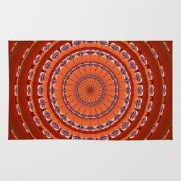 Fall to Winter Mandala Rug