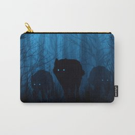 Wolf Pass: Cerulean Mist Carry-All Pouch