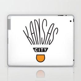 Kansas City Shuttlecock Type Laptop & iPad Skin