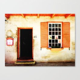 Number 65 Canvas Print
