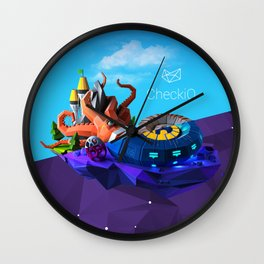 CheckiO + Epire of Code Wall Clock