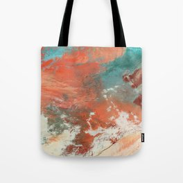 Heavy Snow in China Tote Bag