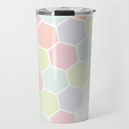 Pastel Buzz Travel Mug