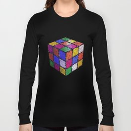 The color cube Long Sleeve T-shirt