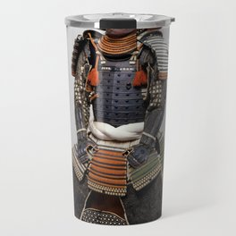 Historical Samurai Armor Photograph (18th Century) Travel Mug
