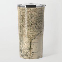 Map of Paraguay & Chili, South America (1718) Travel Mug
