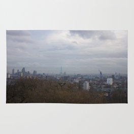View of London from Hampstead Heath Rug