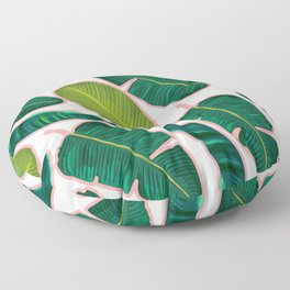 Banana Leaf Blush #society6 #decor #buyart Floor Pillow