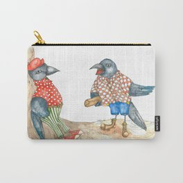 Jackdaws Carry-All Pouch