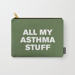All My Asthma Stuff (Kale) Carry-All Pouch
