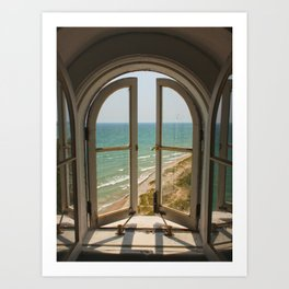 Lighthouse View Art Print