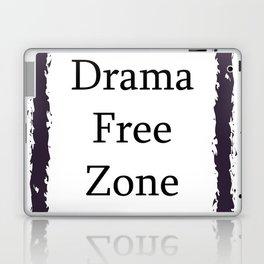 Drama Free Zone Laptop & iPad Skin