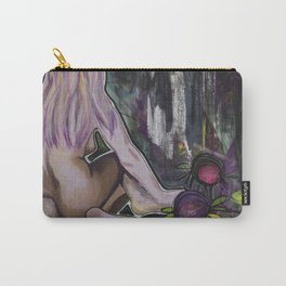 Nude with Flowerz Carry-All Pouch