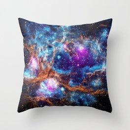 Lobster Nebula Throw Pillow