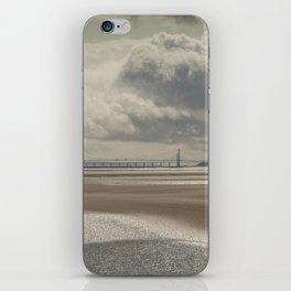 River Severn Sandbanks iPhone Skin