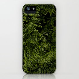 Small leaves iPhone Case