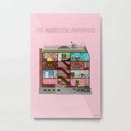 111 Archer Avenue Metal Print