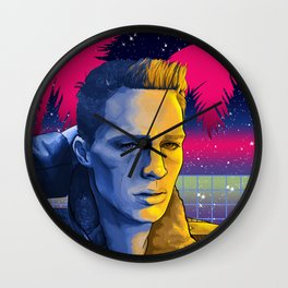 Celestial Beach - Colton Haynes Fanart. (Teen Wolf & Arrow)  Wall Clock