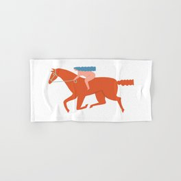 Naked derby Hand & Bath Towel