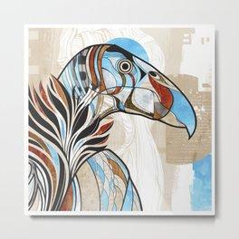 Condor colour Metal Print