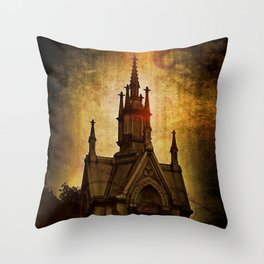 Gothic Sweet Gothic Throw Pillow