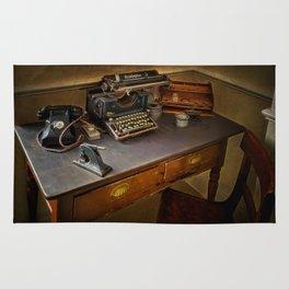 Vintage Writers Corner Rug