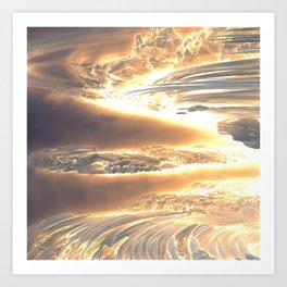 Fractal Sci-Fi: Stellar 1 Art Print