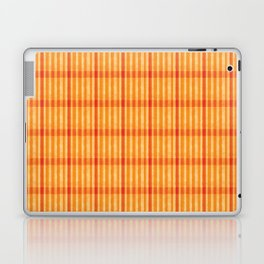 Plaid_Orange Laptop & iPad Skin