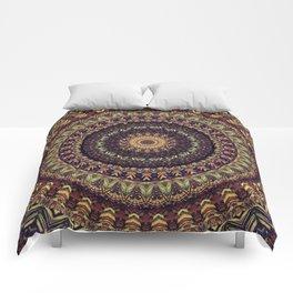 Mandala 252 Comforters