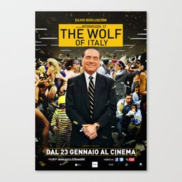 The wolf of Italy Canvas Print