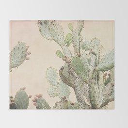 Cactus 2 Throw Blanket