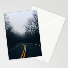 Winding Mountain Roads Stationery Cards