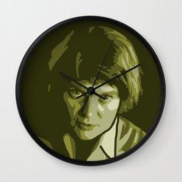 Iris Murdoch Wall Clock