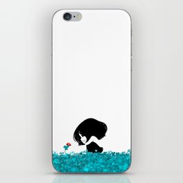 Clover and Coccinelle iPhone Skin