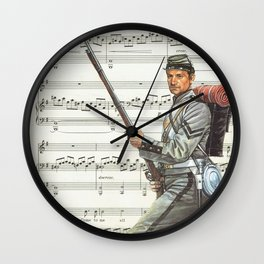 BATTLE SONG Wall Clock