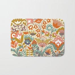 Forest flowers Bath Mat