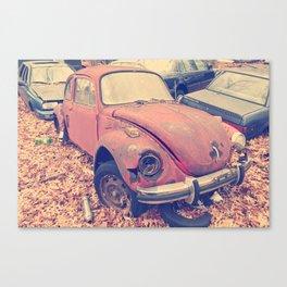 bug in a junk yard  Canvas Print