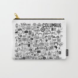 Columbus Ohio Map Carry-All Pouch