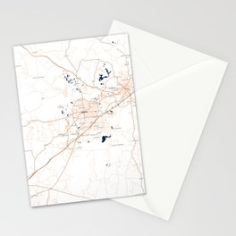 FanMap | NCAA Auburn #04 Stationery Cards