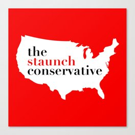 Conservative America Canvas Print