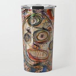Faces Faces Travel Mug