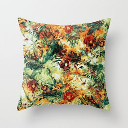 Tropical Haven II Throw Pillow