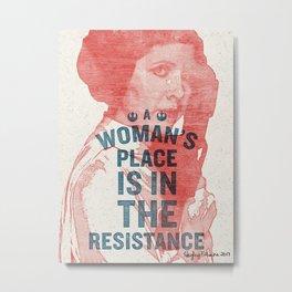 A Woman's Place Metal Print