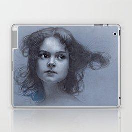 Behind greyness - pencil drawing on paperboard Laptop & iPad Skin