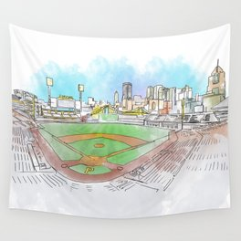 PNC Park Wall Tapestry