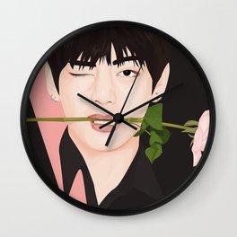 V BTS Wall Clock