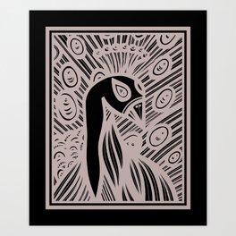 Abundant Crystal Natural Art Print