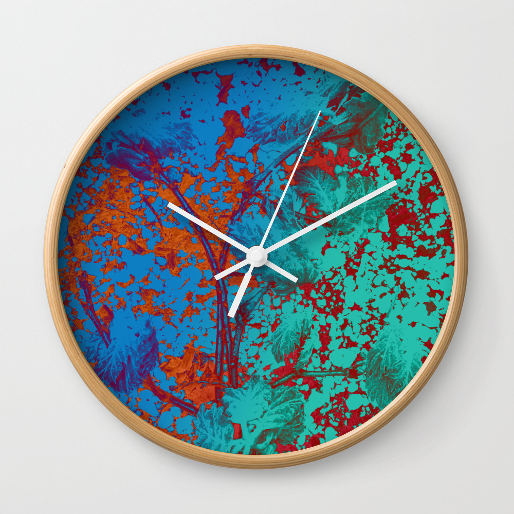 Vibrant Matters Wall Clock by Velvetwater CLK8979504