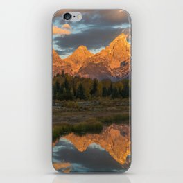 Sunrise On The Snake River iPhone Skin