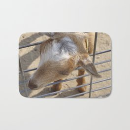 It really gets my goat when all those people stare at me Bath Mat